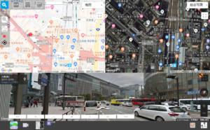 いろいろな目的に応じた地図を使ったサイト・WEBサービスを構築します。